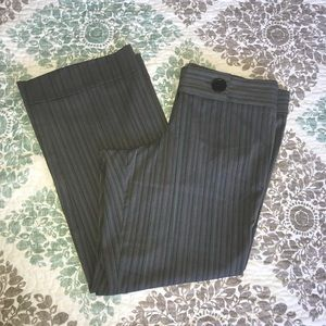 Torrid wide leg pinstripe trousers
